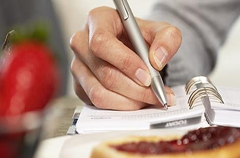 Moć vođenja dnevnika prehrane